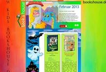"""@KIDS  / Auf www.kids.bookshouse.de/ klicken oder über unsere Haupt-Webseite www.bookshouse.de -> Bücher -> spezielle Themen -> @KIDS Bei uns bekommen die KIDS ein eigenes """"kleines"""", grünes Hausdach."""