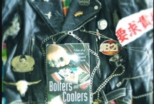 Rockabilly Skulls Bikie Bolters and Coolers / by Honorooroo with P. Tina Watson