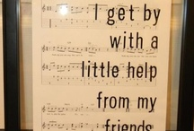 I gEt by wiTh A littLe HELp FrOm mY FRiEndS / by ♥ Debby Johnson   دبي جوهنسون