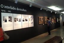 Projetos - Mostra Modigliani - Imagens de Uma Vida - Palacete das Artes Rodin Bahia / Projeto arquitetônico/expográfico: Lorena Bannach