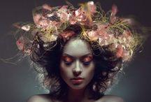 Flowery Photo Inspiration / Flowery fashion, beauty, etc...