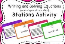 Solving Equations & Inequalities / CCSS.MATH.CONTENT.7.EE.A.1-2 Use properties of operations to generate equivalent expressions. CCSS.MATH.CONTENT.7.EE.B.3-4 Solve real-life and mathematical problems using numerical and algebraic expressions and equations.