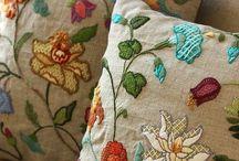 embroidery / I love