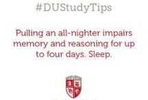 #DUStudyTips / by Drury University