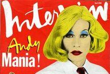 Andy Warhol / retrogoddesses.com / by retrogoddesses.com