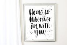 K+M... Home is Where My Love Is
