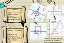 Transformations / CCSS.MATH.CONTENT.8.G.A.1-4 Understand congruence and similarity using physical models, transparencies, or geometry software