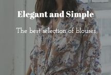 Elegant and simple Blouses
