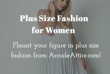 Plus Size Fashion for Women / Flaunt your figure in plus size fashion from ArcadeAttire.com!