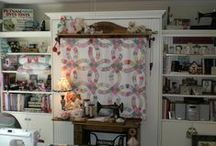 Sewing and Scrapbook Rooms / by ✿Frankie Ann✿