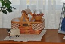 Longaberger / I love Longaberger!  Such a pretty way to organize....