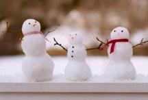 snowmen love...