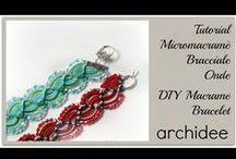 Archidee Videos -  My Beadings Tutorials & Creations / In questa board ho raccolto tutti i tutorial e i video creazioni dei gioielli che o realizzato in tessitura e ricamo di perline ( embroidery ) www.archideeonline.it