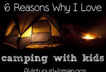 Family Camping  / Camping food. Tips for camping with kids. Camping destinations. Camping tips.