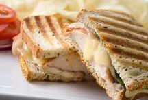 Savory Sandwiches / Sandwiches made gourmet style with the finest french cheeses