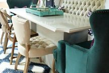 Dining Rooms / These dining rooms are almost too pretty to eat in!