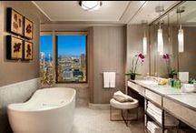 Bathrooms & Powder Rooms / bathroom designs / by Roula Corban