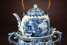 Tea/Coffee/Chocolate Pots & Cups / tea and coffee sets, old and new / by Roula Corban