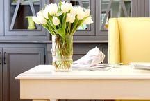 Office Inspiration / Office inspiration | office decor | office remodel | office decorating | office ideas