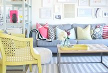 My Color Obsession / My color obsession | I love color | decorating with color | color schemes