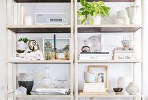 Beautiful Bookcases / Beautiful bookcases | bookcase staging | bookcase styling | bookcase ideas