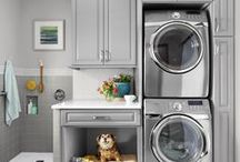 Laundry Rooms / Laundry rooms | laundry room makeover | laundry room ideas | laundry room decor