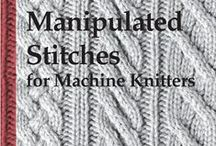Machine Knitting / Ideas and inspirations