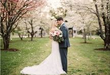 Spring Weddings / Spring Wedding Inspiration from romantic Orchard Blossom venues to delicate Spring hues.....