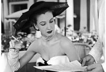 Chic Vintage Glamour / People, images, eras and styles that inspire Chic Vintage Brides....