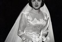 Chic Vintage Brides / Real photos of brides from the 1890s to the 1960s