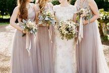 Vintage Bridesmaids / Bridesmaids dresses and bridesmaids inspiration.....