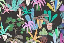 patterns / Surface pattern design inspiration. Wallpaper, wrapping paper, textiles and more.