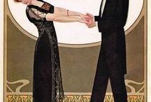 Art Nouveau Wedding / Art Nouveau wedding inspiration.....