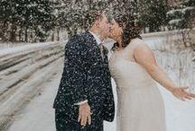 Winter Weddings / Winter Wedding Inspiration......
