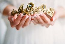 Crowns & Tiaras / Inspired by Royal Weddings of the past and present I love crowns!
