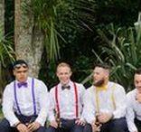 Rainbow Weddings / Bright and beautiful rainbow wedding inspiration