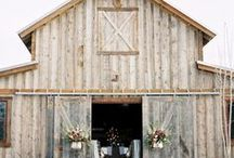 Barn Weddings / Barn weddings are a great way to mix relaxed rustic charm into a modern wedding to create a fun environment. Here are some ideas and real barn weddings for inspiration.....