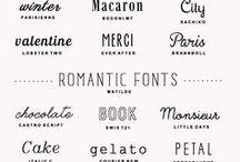 FONTS, pretty fonts・