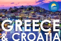 Taste of Greece & Croatia / Visitors flock to Greece for its rich history, timeless legends and glorious architecture. Greek cities and towns are positively overflowing with classic postcard images, from those famous whitewashed houses with blue window shutters to the crumbling temples of Athens. And with over 3500 islands scattered across the shimmering Aegean Sea, Greece is the perfect place to unwind, relax and soak up the sun. / by Tempo Holidays
