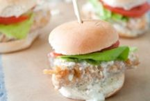 Tailgate Recipes / Fun recipes to inspire cheer for your favorite team! Psst! Many recipes pair well with beer.