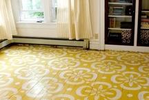 Floors / Ideas for jazzing up your floor