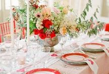 Poppy Red Weddings / Inspiration for bright and beautiful poppy red weddings.....
