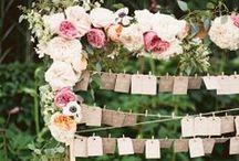Wedding Escort Cards & Table Plans