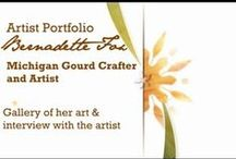 Artists' Portfolios / by Bernadette Fox