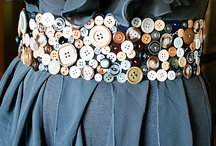 Button Crafts and Ideas / by Bernadette Fox