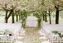 Aisle Style / Aisle & Ceremony Decor - arches, wreaths, lighting