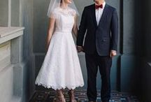 Tea Length & Short Wedding Dresses / Tea Length, Mid Length and Short Wedding Dresses
