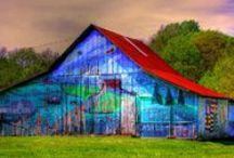 Barns / by Captive in Florida Fabrics