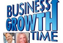 Business Growth Time Show & Podcast / We invite you to join us in learning marketing in a fun way.  Awesome guests and lots of business growth tips.  More info at: www.BusinessGrowthTime.com / by Janet E Johnson