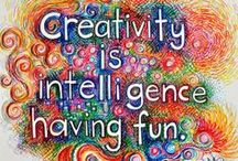 Creative Inspiration / Tips for boosting creativity, thinking outside the box, and more.
